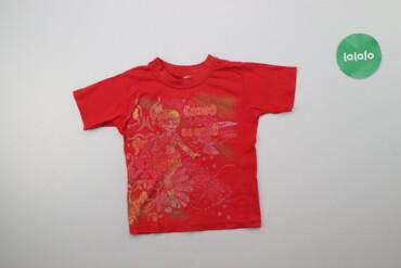 Дитяча футболка з принтом    Довжина: 36 см Ширина: 28 см Рукав: 11 см