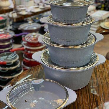 Qazan destleri Material:Qranit Almanya istehsalı