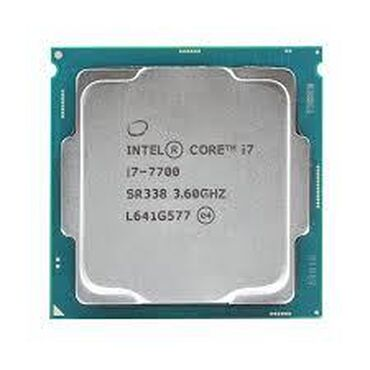 Prosessorlar - Azərbaycan: Intel® Core™ i7-7700 Processor8M Cache, up to 4.20 GHz# of Cores:4# of