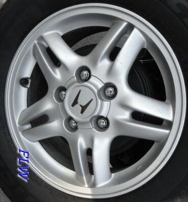 hr s в Кыргызстан: Продаю шины и диски комплект от Honda CR-V не крашеные привозные шины
