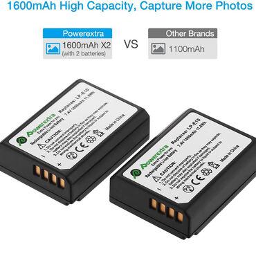 Batareya LP-E10 - PowerextraCanon 1100D,1200D,1300D ucun