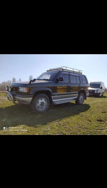 реставрация сиденья авто в Кыргызстан: Isuzu Bighorn 3.2 л. 1994