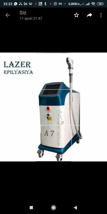 Lazer aparati satilir‼️‼️‼️20ci ilinmadelidir həm diod həm də