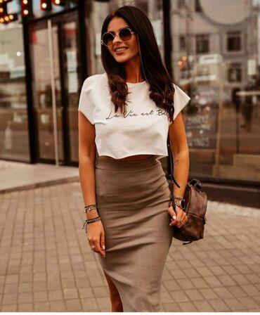 Uni komplet suknja + majica