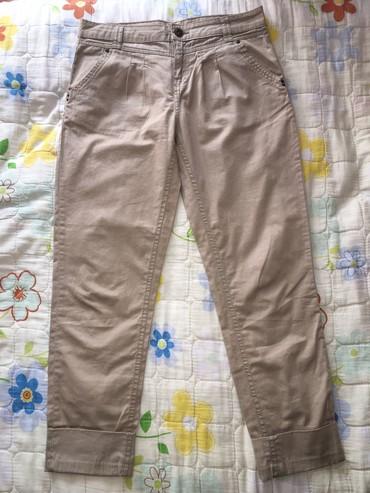 Женские брюки в Кыргызстан: Primark женские бежовые чино, состояние отличное, размер: S