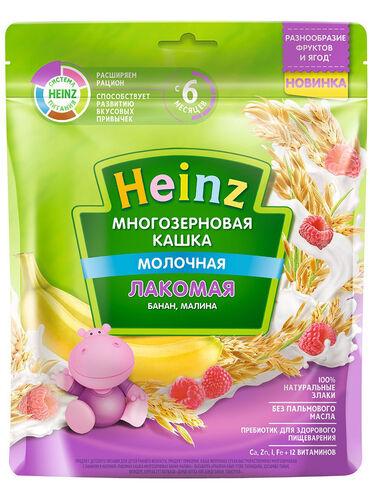 акита ину хатико в Кыргызстан: Heinz / Каша молочная лакомая многозерновая. Состав:сахар, кукурузное