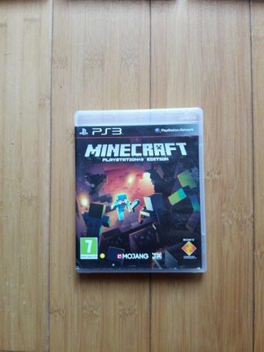 MINECRAFT PS3 igrica!!! - Novi Sad