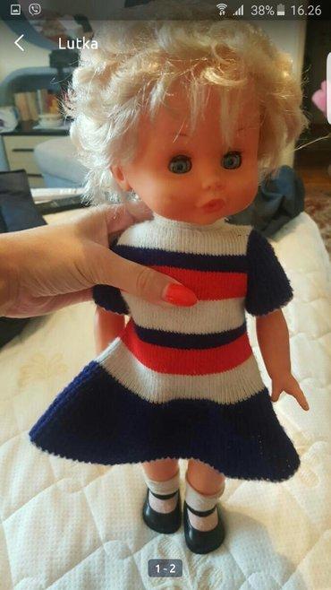 Pozadi slic dug cm - Srbija: Lutka 30ak cm