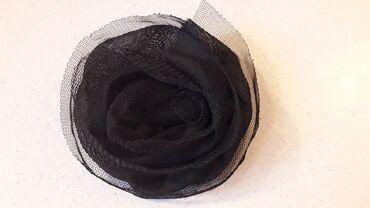 Μπουτουνιέρα μαύρη  Διάμετρος: 10 εκατ