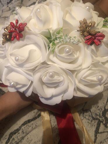 букет невесты в Кыргызстан: Свадебный букет для невесты, очень оригинально смотрится пишите