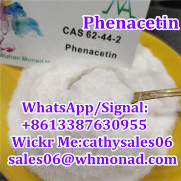 Local Anesthetic Phenacetin 62-44-2 with safe shipping 62442 / 62 44 2