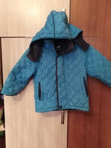Детская куртка синия в хорошем состоянии на 3-4 лет цена договорная