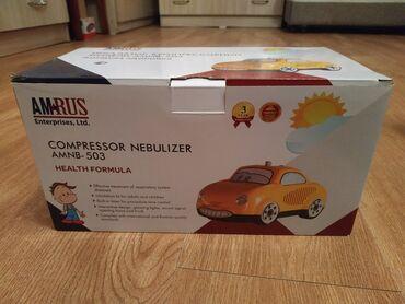 104 объявлений: Продаю компрессорный инголятор (небулайзер) Amrus AMNB-503. Состояние