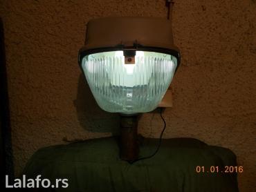 Ostalo | Lazarevac: Ispravna lampionska glava sa živinom sijalicom od 125w. tel