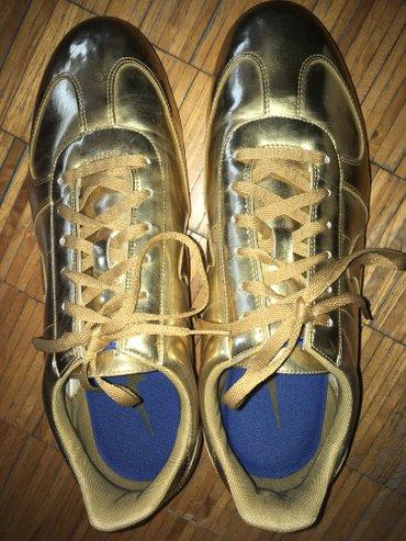 Nike patike, zlatne boje, broj 45, ali odgovara broju 44. Jednom obuve - Beograd