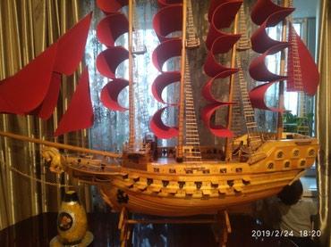 Продаю корабль ручной работы длина 170с в Novopokrovka