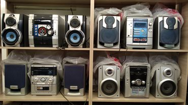 Продаю муз центры AUX пдкл. телефон телевизор в Бишкек