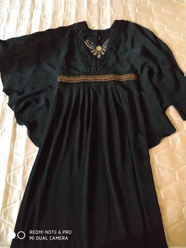 черное платье на свадьбу в Кыргызстан: Хиджаб. одевала один раз на свадьбу. рукова на замочках. размер 44-48