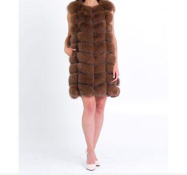 Девушка по вызов ош - Кыргызстан: Продается новая не ношеная жилетка натуральный песец ( срочно срочно