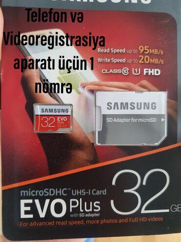 32 35 oelcuelue usaq roliklri - Azərbaycan: Samsung Evo Plus Yaddaş Kartı 32 GB Klass10 İstehsalçı: SamsungNövü