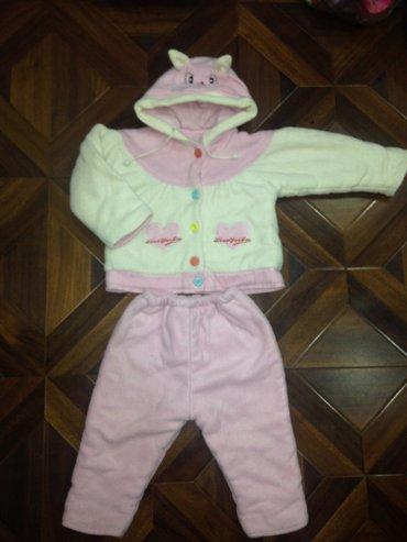 Теплый костюм на девочку 2-3 года  в Бишкек