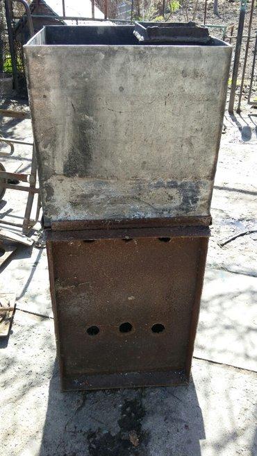 Печь для бани бак из нержавейки в Кок-Ой