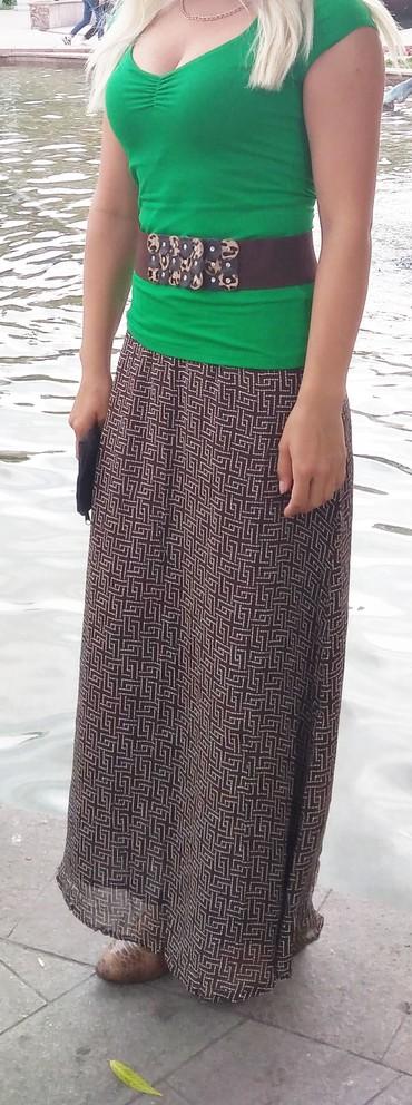 юбки индия в Кыргызстан: Качественная юбка из шифона на хб подкладе. 40-44 размера. Индия