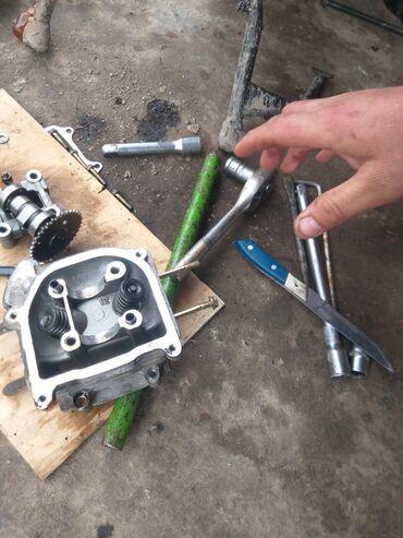 Транспорт - Кыргызстан: Скутер ремонт 2 такный 4 такный мото блок бензо пила итагдали с