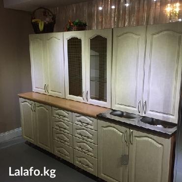 Кухонный гарнитур новый, длина мебели в Бишкек