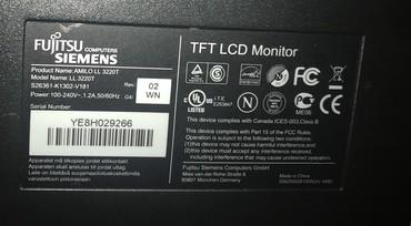 siemens notebook fujitsu - Azərbaycan: Fujitsu Siemens AMİLO Xl 3220T Full HD 21.5 inch