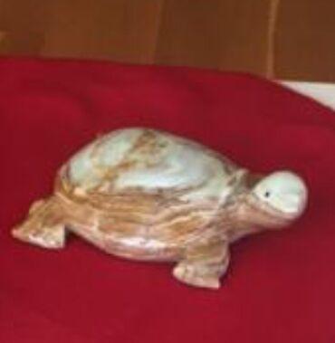 Статуэтка черепахи из оникса  Размер 15* 12 см