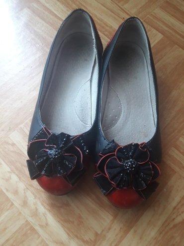 Туфельки 36 размер .  Примерно на 10 лет. Состояние очень хорошее! в Бишкек