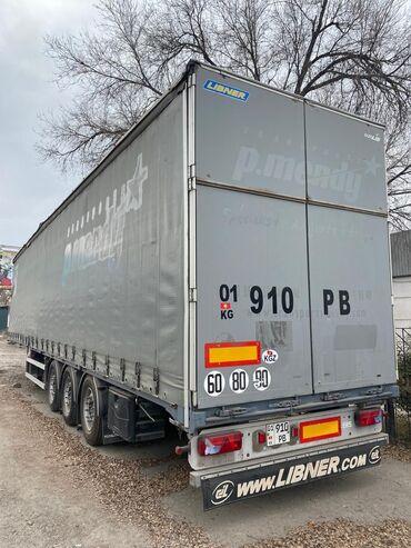 грузовые шины 385 в Кыргызстан: Прицеп 2007г,борт шторка,100куб 3 колеса новыеABC всё четко работае