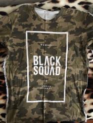 usaq-futbol-formasi - Azərbaycan: BLACK SQUAD t-shirt L razmer