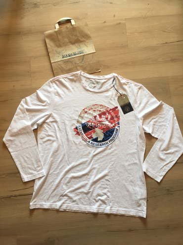 Original Napapijri majica, velicina XL i 3XL. Pamuk. Moguca provera - Novi Sad