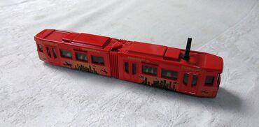 Avtomobil modelləri | Srbija: Siku Tramvaj Frankfurt.de 1:120 scale diecast metal 1615, ocuvan
