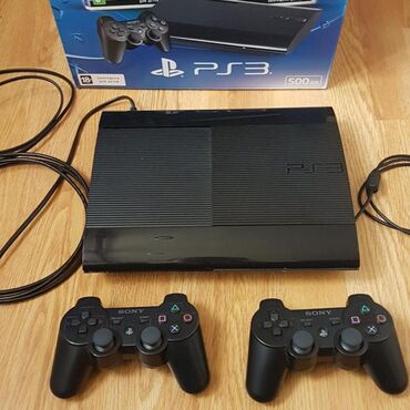playstation3 - Azərbaycan: Playstation3 tecili satilir 2 ededdir her aparata gore 2 eded pult