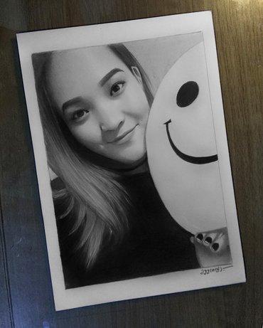 Портреты по фото на заказ! формат а4 и а3.. информация по вотцапу в Кант