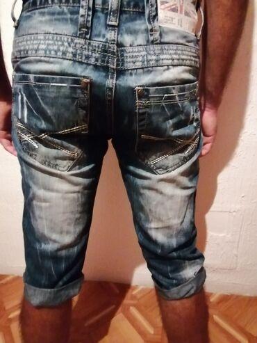 Muske bermude - Srbija: Teksas bermude na prodaju br pantalona 30