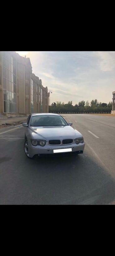 bmw m5 4 4 m dkg - Azərbaycan: BMW 745 4.4 l. 2002 | 350000 km