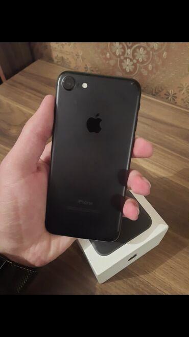 black afgano ideal в Азербайджан: Б/У iPhone 7 32 ГБ Черный