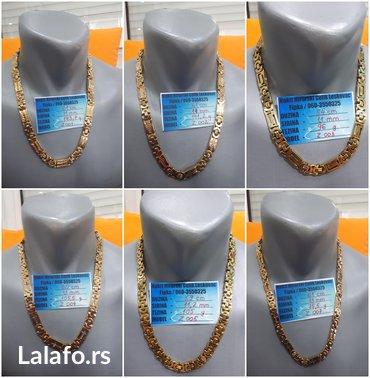Lanac ogrlica hiruski celik 65 modela pogledaj oglas - Leskovac