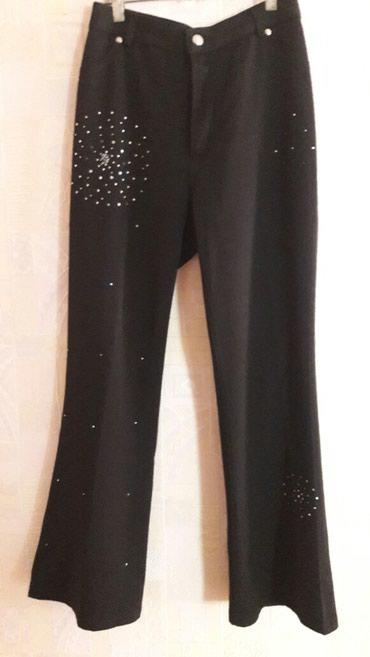 мужские черные брюки в Кыргызстан: Брюки черные спорт/шык .Размер 44-46 . в хорошем состоянии