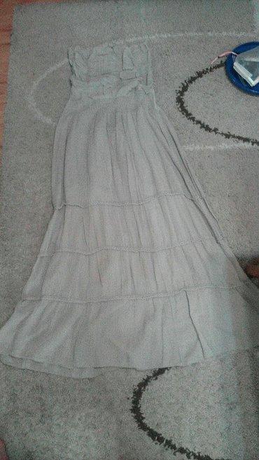 Bozanstvena top haljina,drap boje,lagana vel.s/m - Pancevo