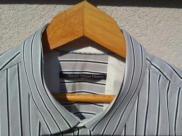 Muška italijanska košulja , kvalitetna, veličina xl, 82 % pamuk, - Pozarevac - slika 3