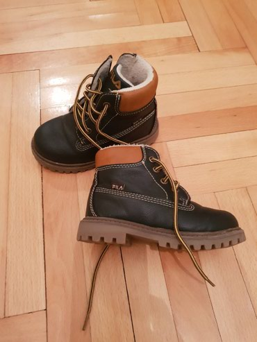 Fila zimske cipele 23. Cipele su u tamno plavoj boji. Nosene par puta. - Belgrade