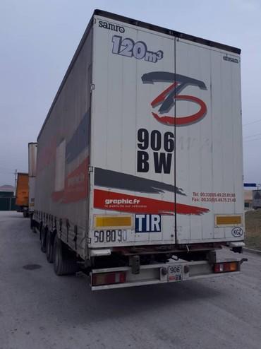 DAF 480 тандем 125 кубов,2006год, механикаРетарда6 оска(шесть
