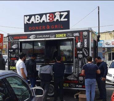 104 - Azərbaycan: Fast Food tam hazır istənilən yerə aparıb icazənizi alıb işlədə