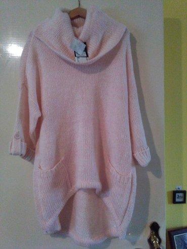 Novooooi extra kroj,za krupnije dame,ise 42,extra stoji vunica roze - Sombor