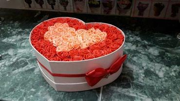 Невянущие розы нп праздник в Бишкек